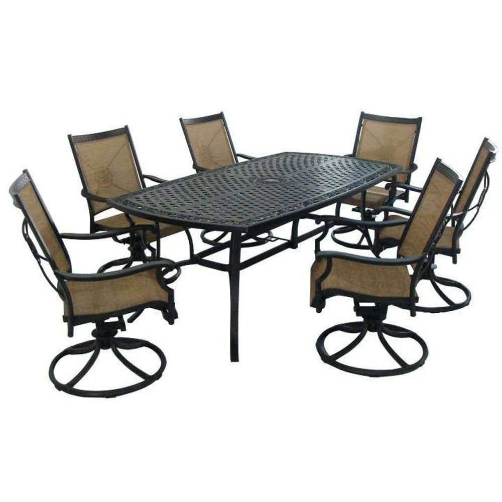 Martha Stewart Living Solana Bay 7 Piece Patio Dining Set intended for size 1000 X 1000
