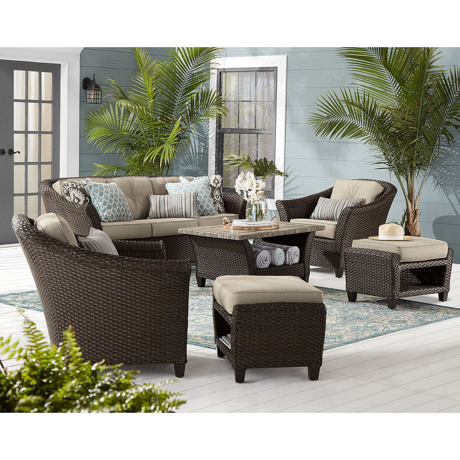 Members Mark Agio Collection Toronto Seating Set Sams with sizing 1500 X 1500