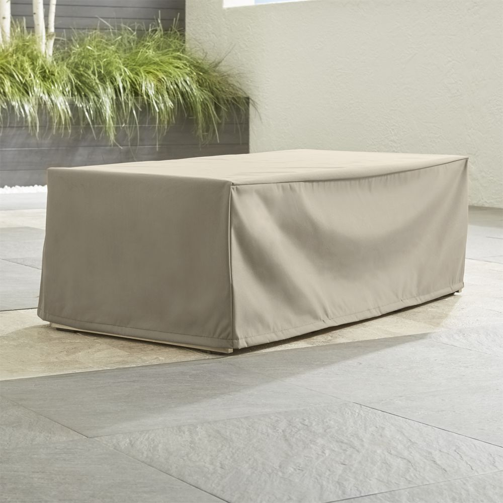 Outdoor Rectangular Coffee Table Cover Crate And Barrel pertaining to dimensions 1000 X 1000
