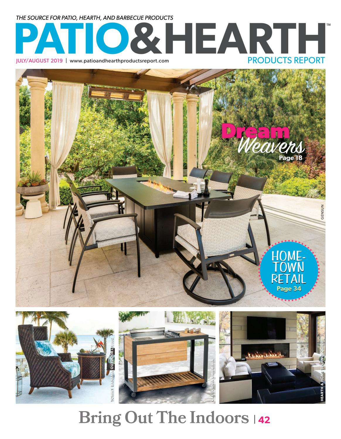 Patio And Hearth Product Report Julyaugust 2019 in measurements 1164 X 1498