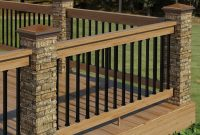 Patio Deck Kit With Handrail 8x8ft There Are A Great Deal with regard to size 1500 X 1216