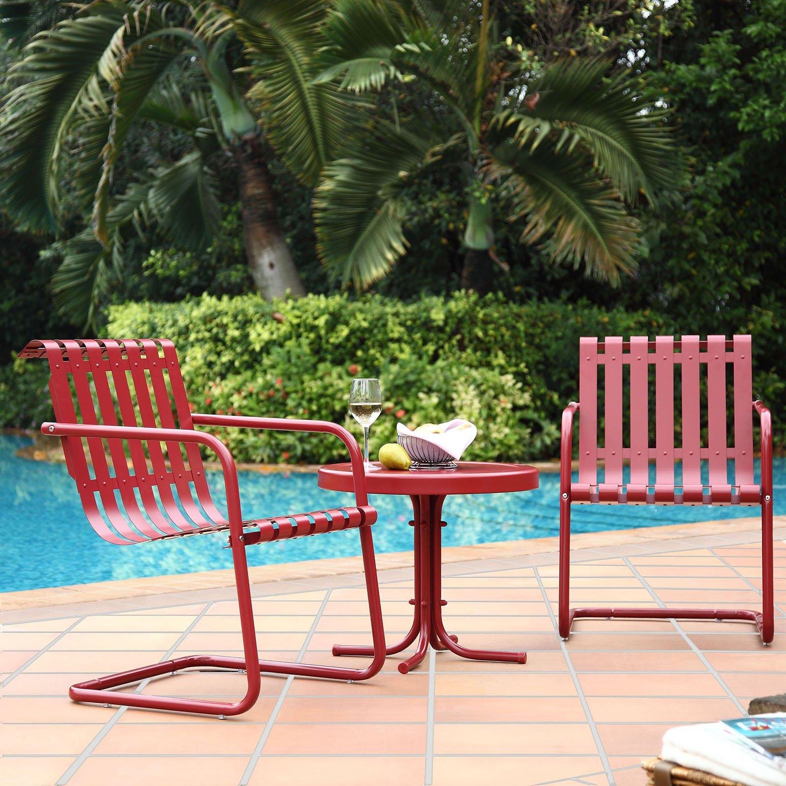 Patio Furniture Sets Crosley Furniture Gracie 3 Piece Retro with size 1600 X 1600