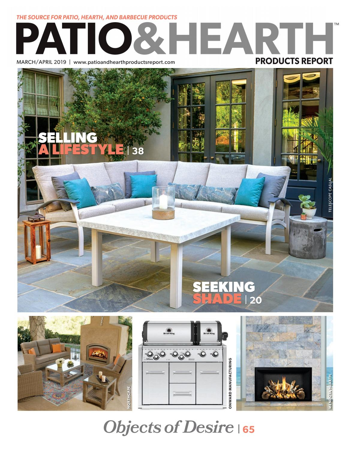 Patio Hearth Products Report Marchapril 2019 Peninsula in sizing 1164 X 1498