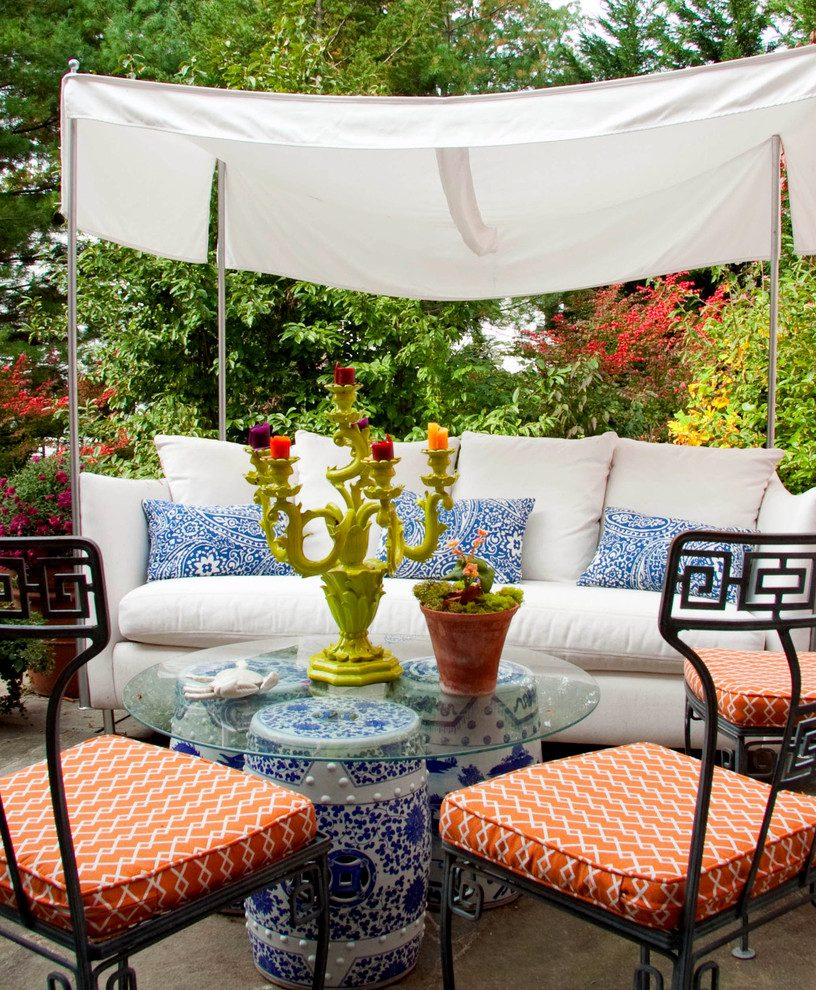 Philadelphia Sun Shade Patio Contemporary With Garden intended for sizing 816 X 990
