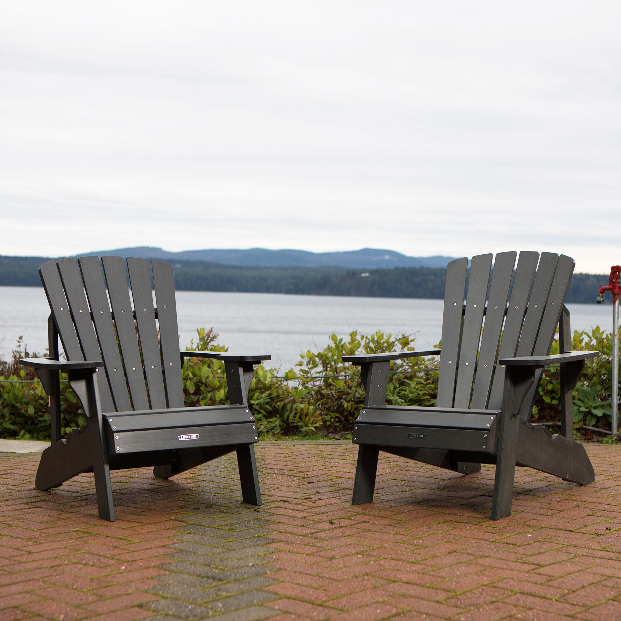 Plasticresin Adirondack Chair with sizing 2000 X 2000