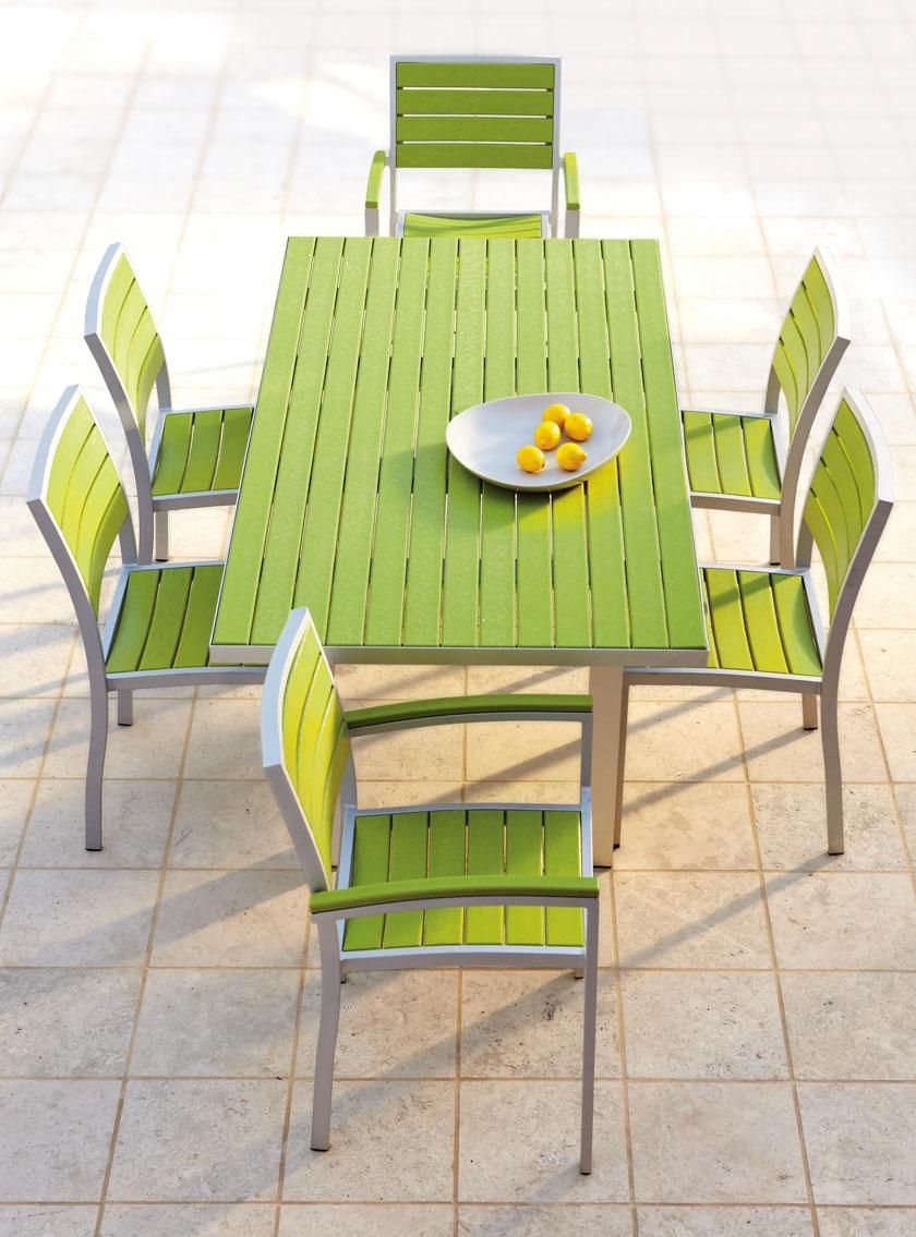 Polywood Rectangle Dining Table Recycled Plastic Outdoor within sizing 840 X 1135