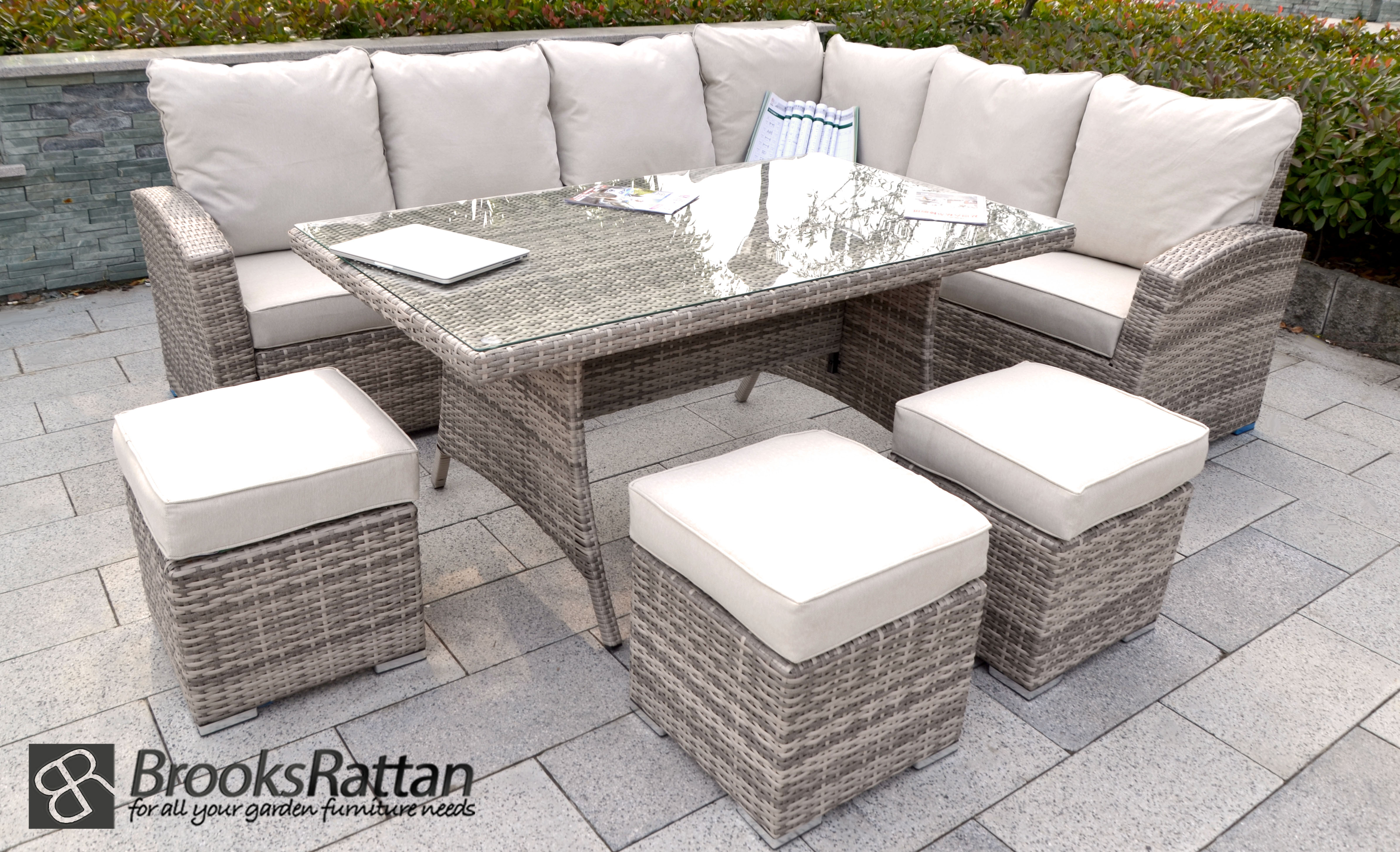 Rattan Garden Furniture Corner Dining Sets Best Quality in proportions 4774 X 2905