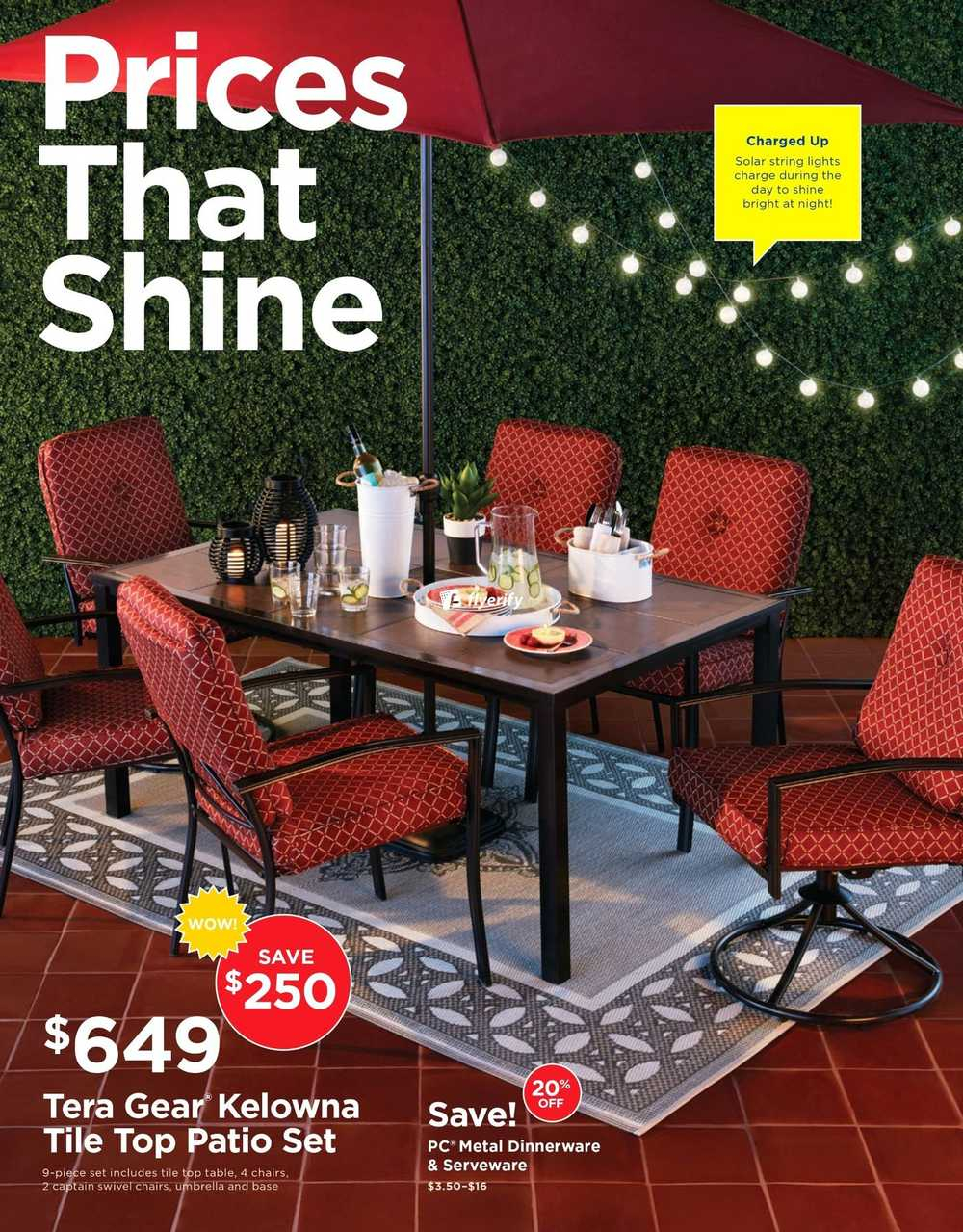 Real Canadian Superstore Outdoor Living Flyer May 6 To 23 Canada with regard to size 1000 X 1279
