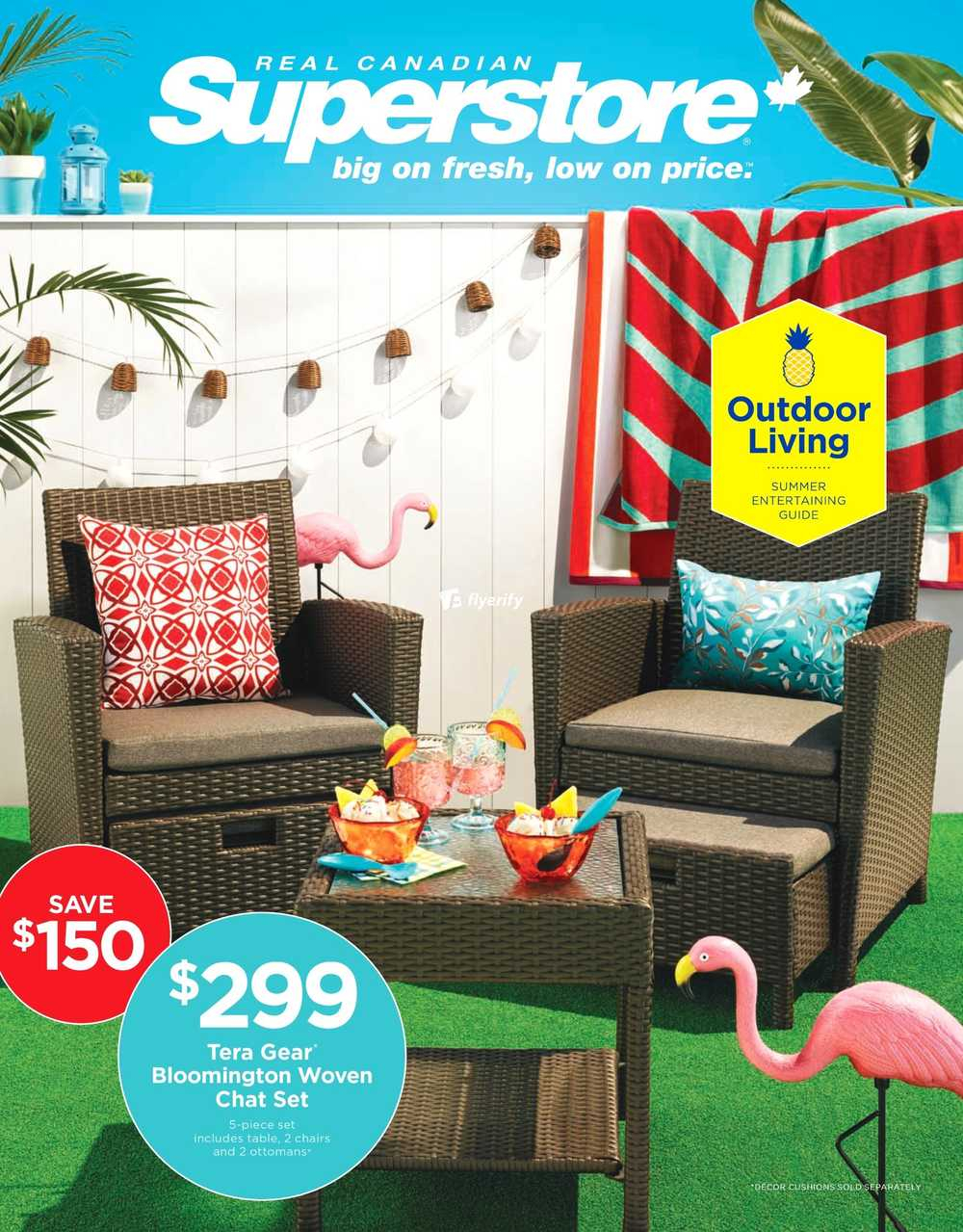 Real Canadian Superstore Outdoor Living Flyer May 6 To 23 Canada with regard to sizing 1000 X 1279