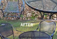 Restore Metal Outdoor Furniture To Like New Patio within proportions 2000 X 2492