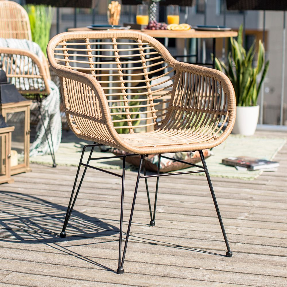 Risto Chair Can Go Outside Or Indoors Rattan Is Always A for measurements 1000 X 1000