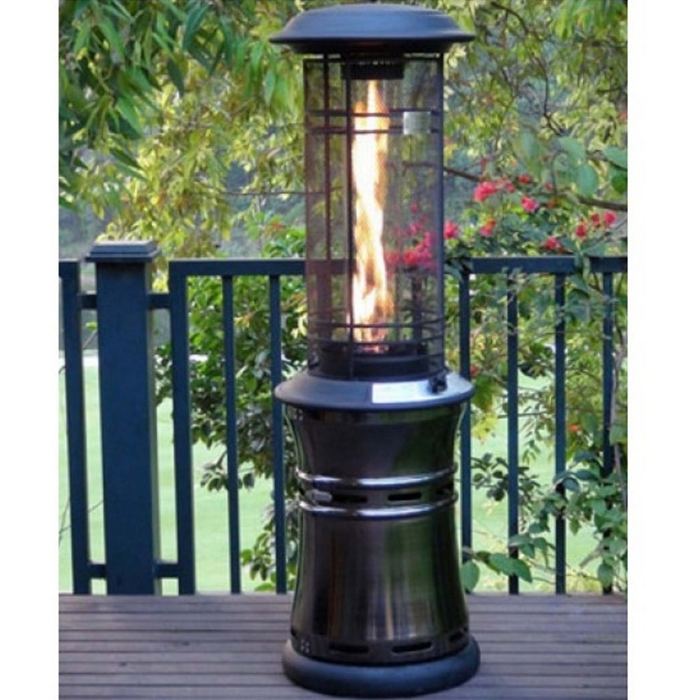 Santorini Flame 10kw Gas Patio Heater throughout proportions 1000 X 1000