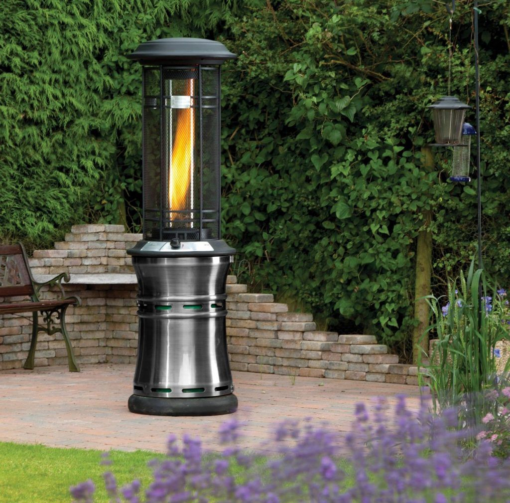 Santorini Real Flame Patio Heater Review Gas Patio with measurements 1024 X 1009
