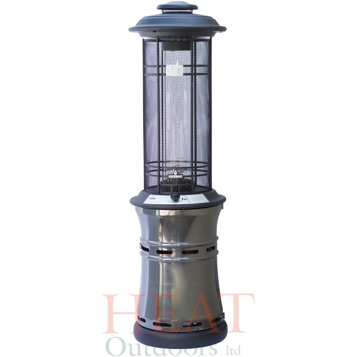 Santorini Spiral Flame Gas Patio Heater Gas Patio Heater intended for sizing 1200 X 1200