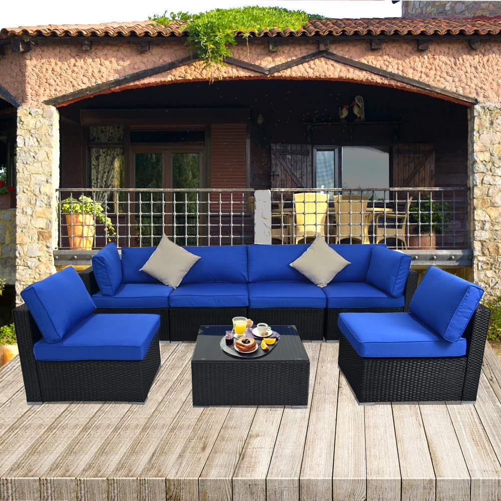 Sectional Conversation Sofa Free Rain Cover Lawn Garden pertaining to size 1000 X 1000
