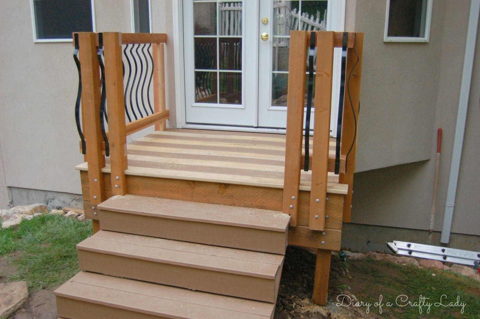 Small Deck Steps Google Search Building A Deck Deck for size 1600 X 1064