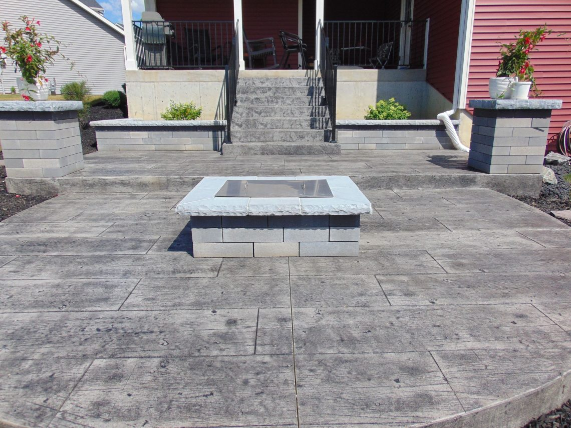 Stone Firepit Installation Fort Wayne Stone Fire Pit pertaining to size 1140 X 855