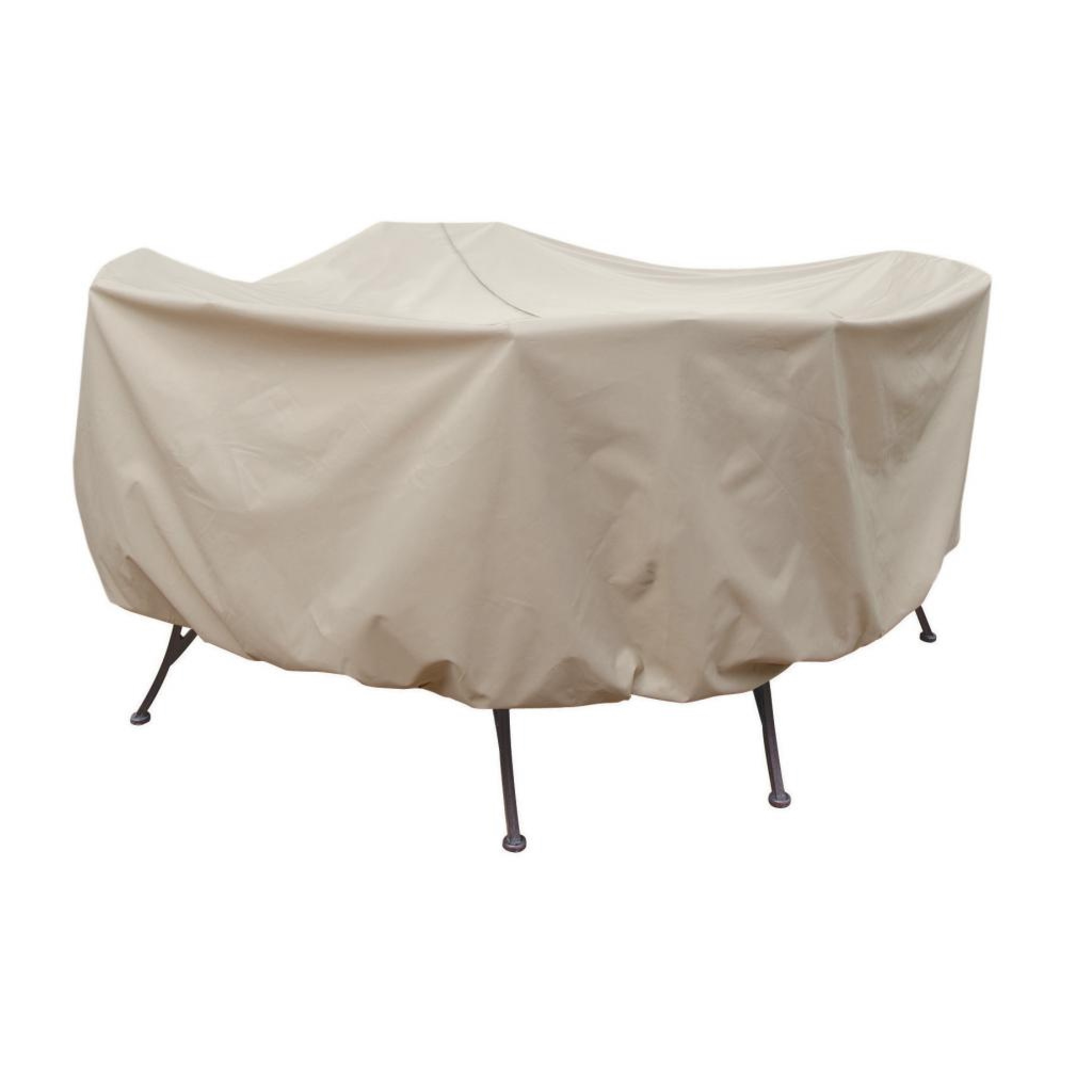 Treasure Garden Protective Patio Furniture Cover Cp572 54 Round Table Chairs intended for measurements 2048 X 2048
