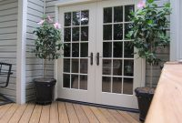 Trendy Patio Door Options At Amazing French Doors Deck With with proportions 1600 X 1200