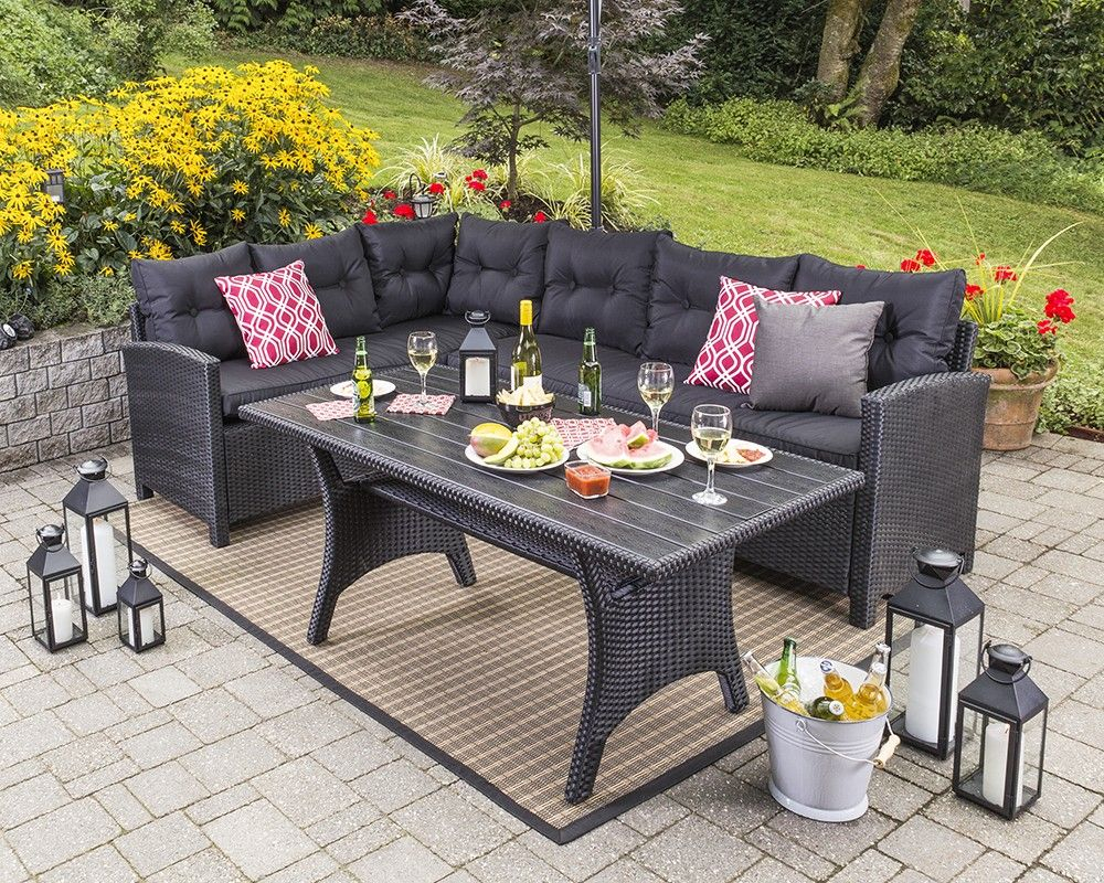 Ullehuse Conversation Set Summer Outdoor Furniture Sets pertaining to measurements 1000 X 800