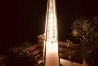 Vancouver Patio Gas Glow Heater With Led Lighting for measurements 1814 X 2419