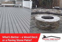 Which Is Better A Wood Deck Or A Paving Stone Patio in measurements 1024 X 768