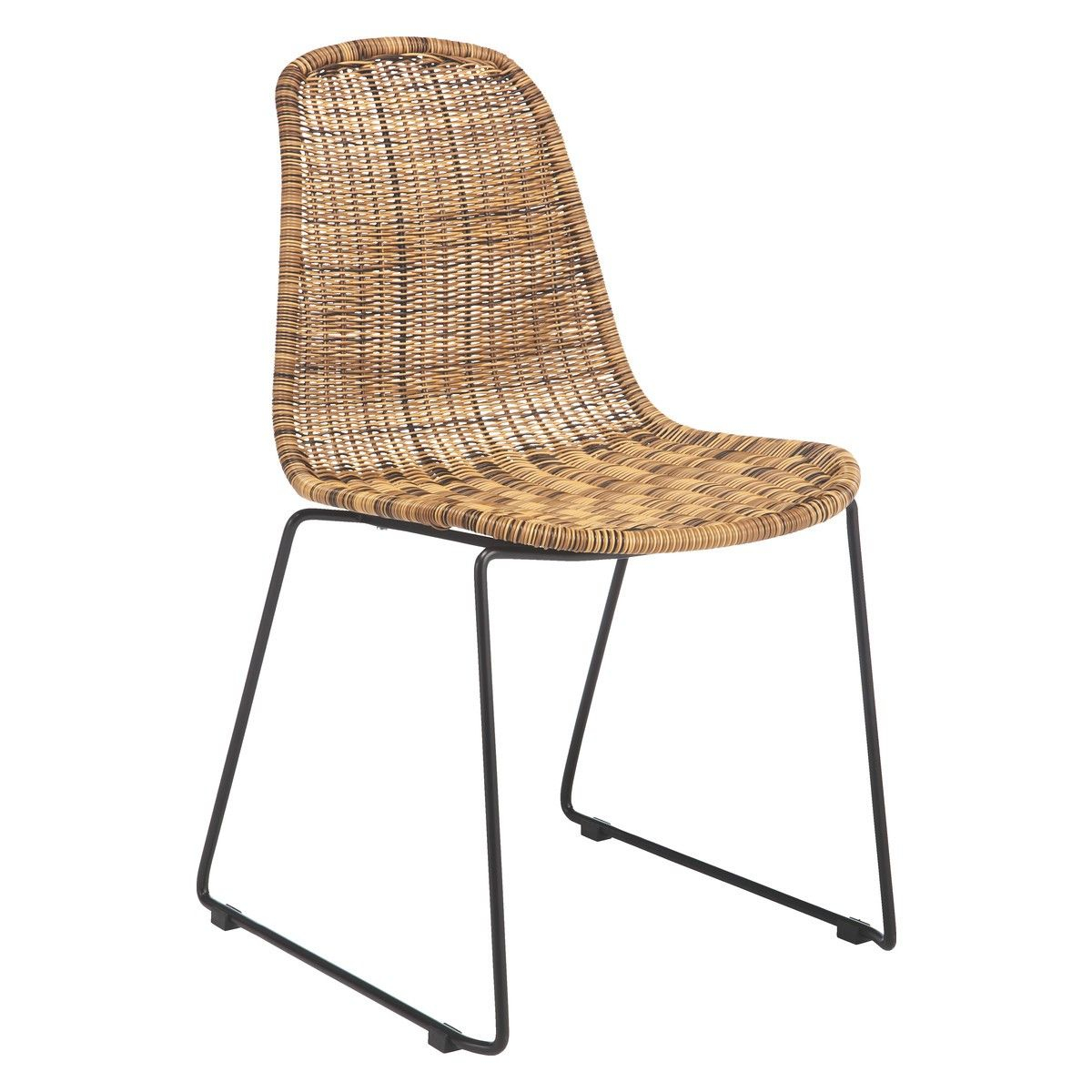 Wicker Dining Chairs Mickey Synthetic Rattan Chair pertaining to size 1200 X 1200