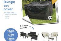 Wilko Ratten Garden Lounge Set Polyethylene Cover with regard to sizing 1000 X 1000