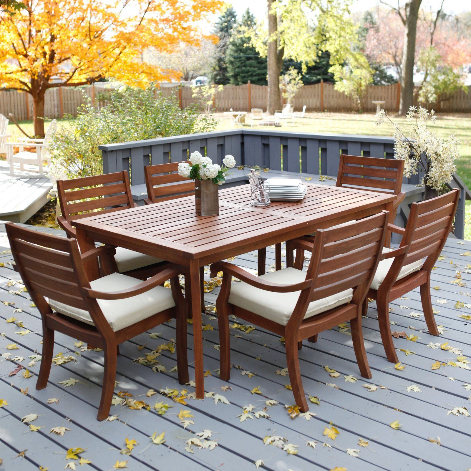 Wooden Garden Patio Furniture Decoration Wood Patio inside sizing 1600 X 1600